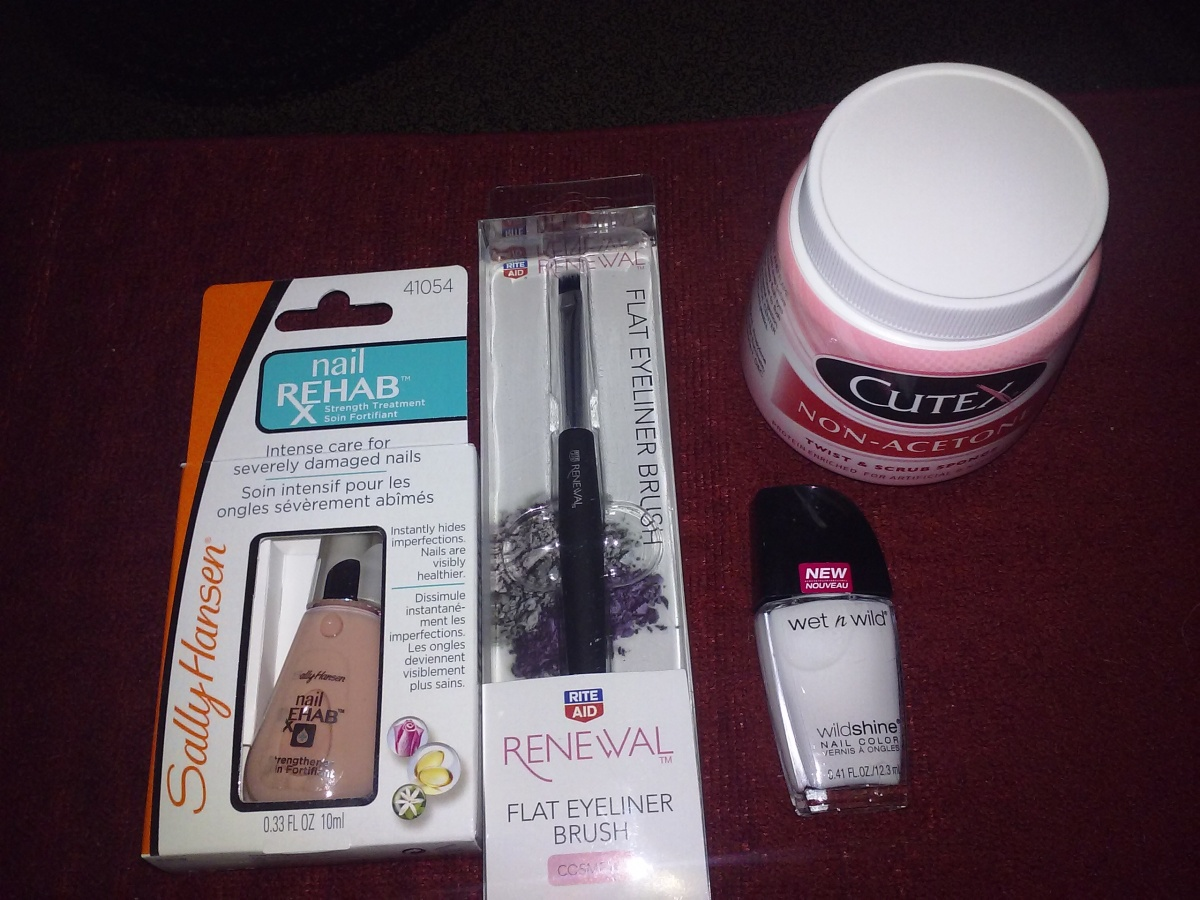 Sally Hansen Nail Rehab Review & Today's nail buys